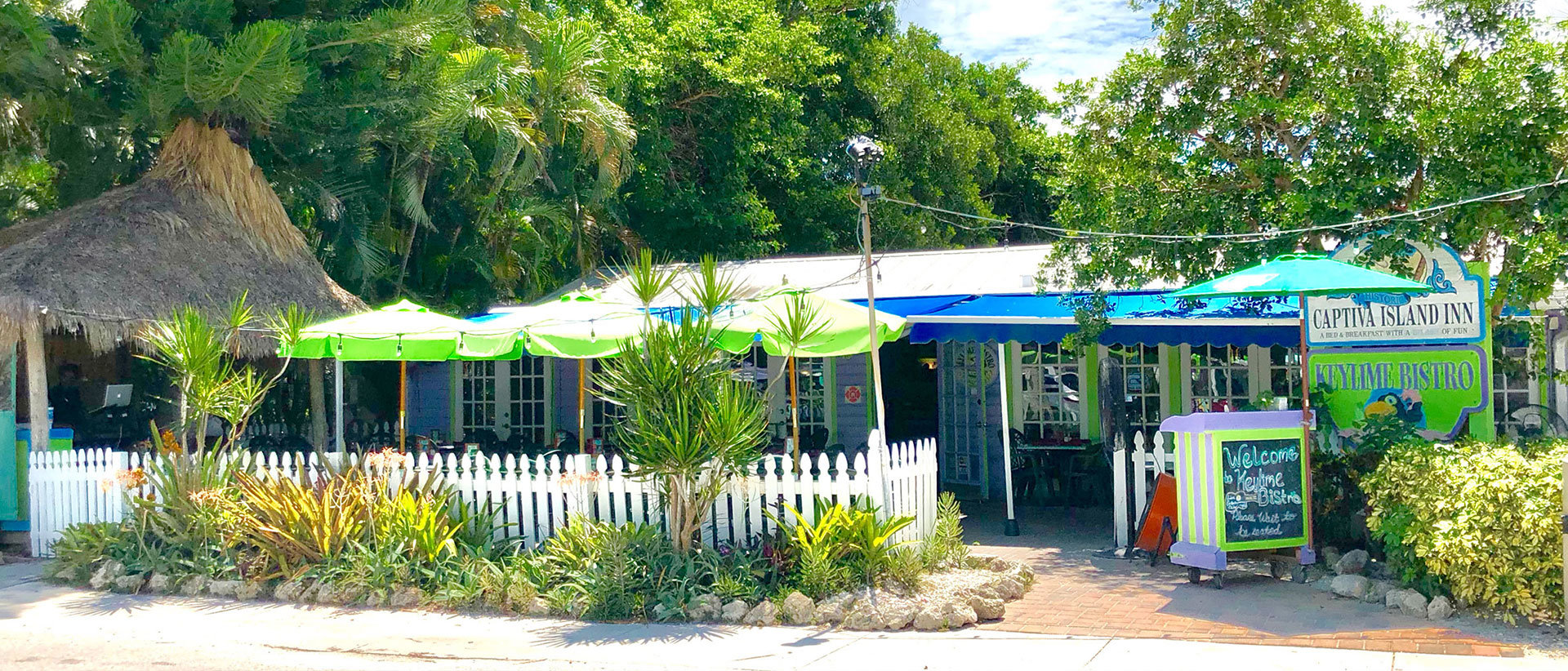 Captiva Island Inn Keylime Bistro Outside