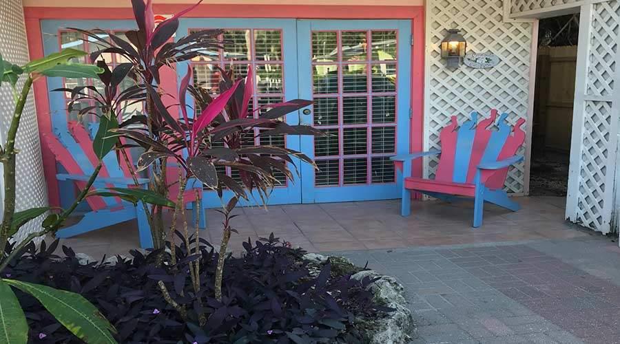 Captiva Island Suites - Gardenia 2-Bedroom- Exterior Entrance