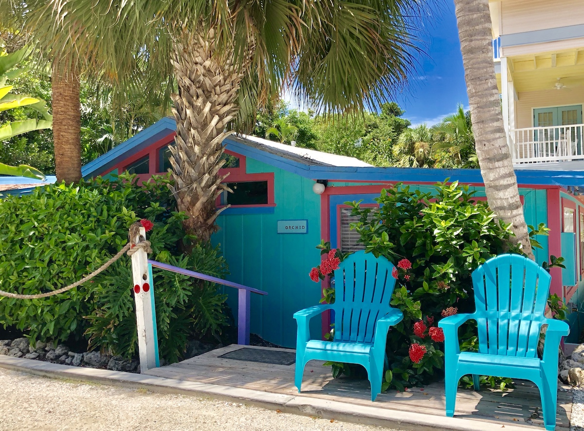 Captiva Island Rental Cottage Orchid Exterior