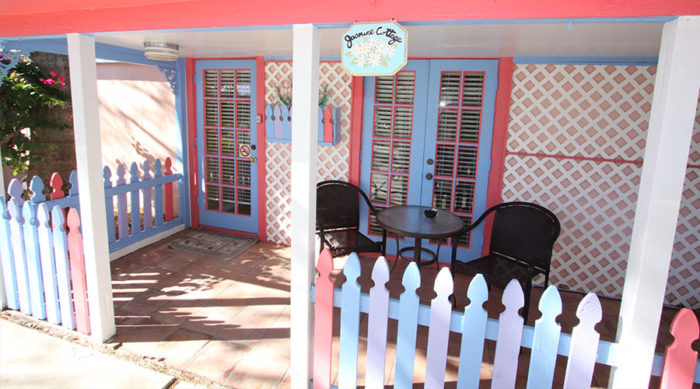 Jasmine Cottage Front Porch