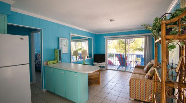 Lantana Suite Kitchen Living Room