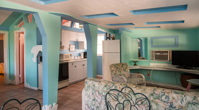 Orchid Cottage Living Area