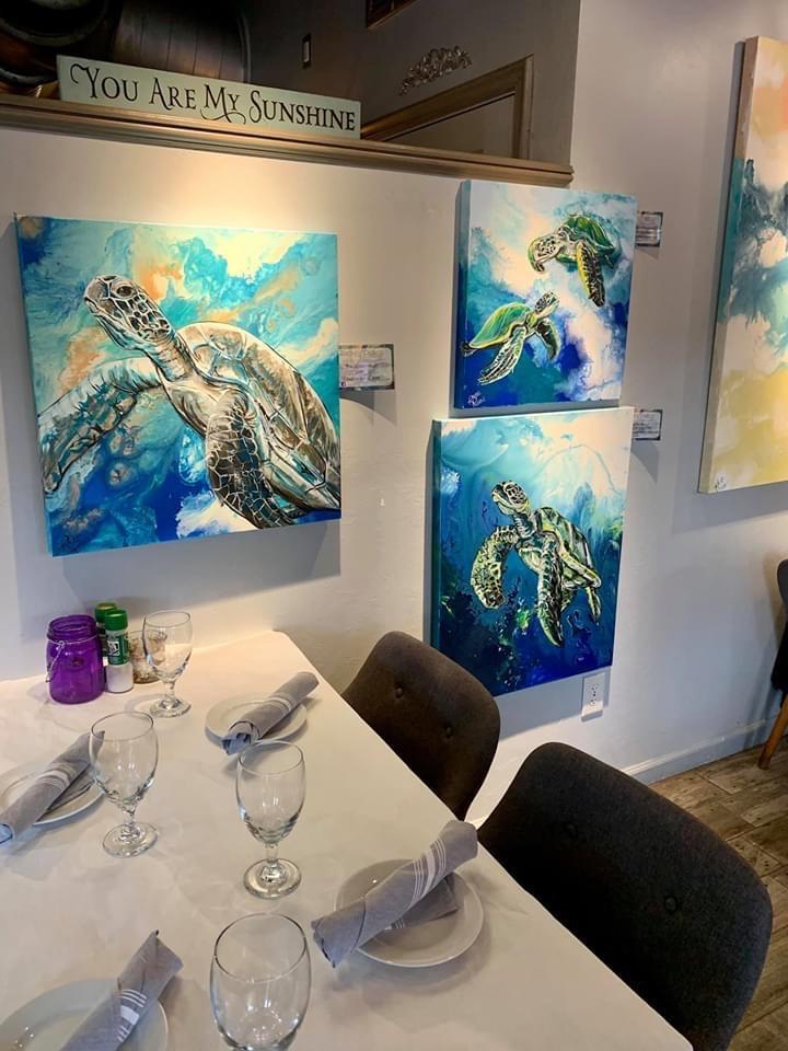 Art for Sale Captiva Island | Sunshine Seafood and grille Restaurant