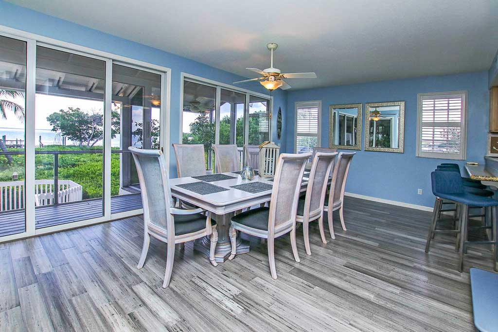 Harbour House Dining Room- Captiva Island Vacation Rental