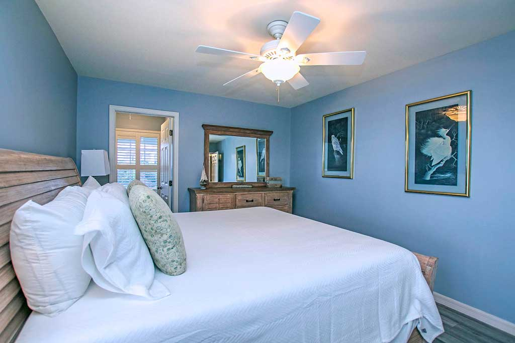 Harbour House Master Bedroom 1- Captiva Island Vacation Rental